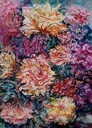 Rose Garden Oil Sold